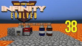 Minecraft FTB Infinity Evolved Ep: 38 - Quick Easy RF Lava Generator