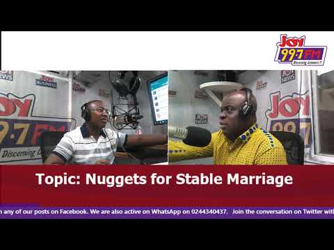 Nuggets For Stabel Marriage - A Walk with Jesus on Joy FM (23-9-18)
