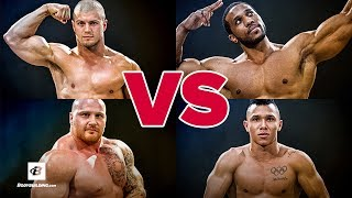 Weightlifter vs Powerlifter vs Bodybuilder vs CrossFit Athlete | Brute Showdown: Episode 1