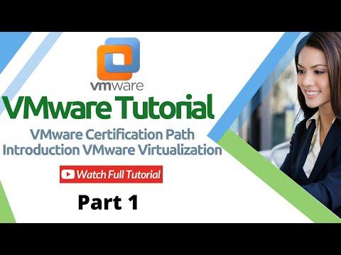 VMware Tutorial | VMware Certification Path | Introduction VMware ...