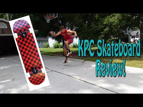 KPC Skateboard Review!