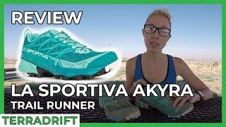 Shoe Review: La Sportiva Akyra Trail Runner