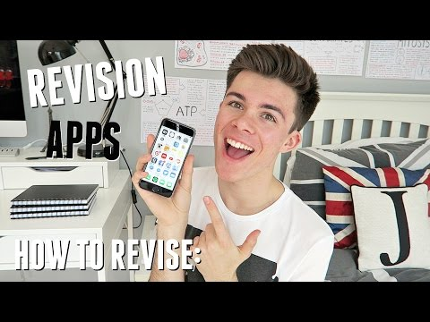 Screenshot of video: Revision App's overview