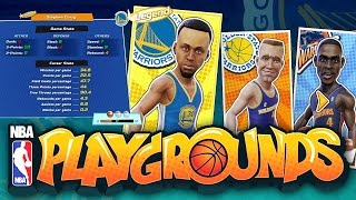 NBA PLAYGROUNDS WE GOT LEGEND STEPHEN CURRY OMG 10 3 POINT SHOT CHEESE!!!
