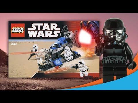 Vidéo LEGO Star Wars 7667 : Imperial Dropship