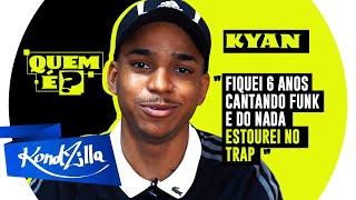 """Quem é Kyan? Dono das músicas: """"Mandrake"""" e """"Nós é Ruim e o Cabelo Ajuda"""""""