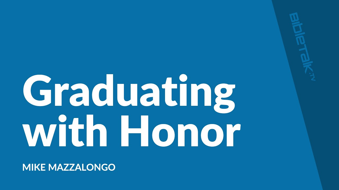 Graduating with Honor