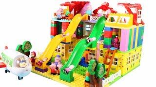 Peppa Pig Blocks Mega House Construction Sets - Lego Duplo House Creations Toys For Kids #4