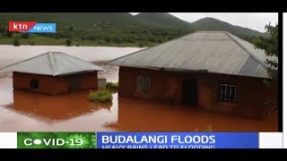 Several Budalangi families rendered homeless as River Nzoia floods
