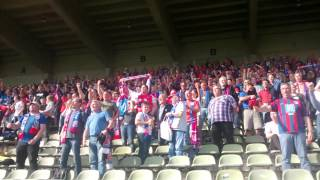 preview picture of video 'VFR Krefeld-Fischeln - Wuppertaler SV Siegesfeier'