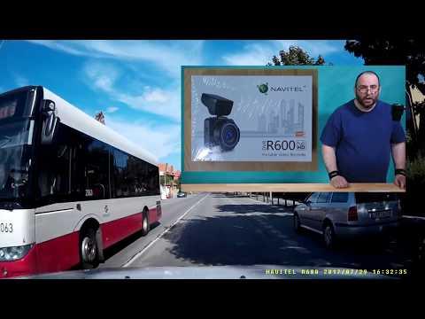 Navitel Car DVR R600 ~ Recenze kamery do auta ~ Česky ᴴᴰ