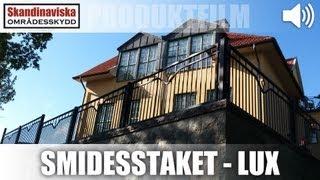 Smidesstaket - Lux AW10.33 AW.10.33/WK 2500x1200mm