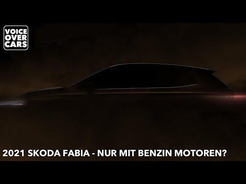 2021 Skoda Fabia nur mit Benzin Motoren? Kommt ein neuer Skoda Fabia RS? Voice over Cars News!