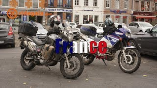 Ep 80 - France (part 1) - Motorcycle Trip Around Europe