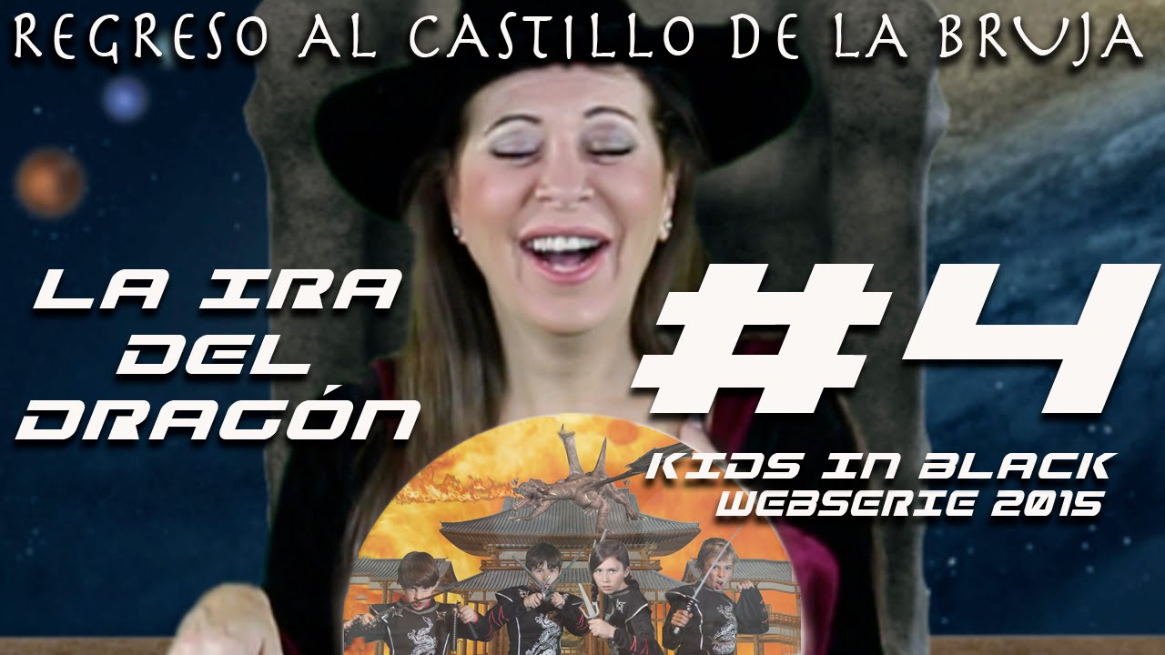 NINJAS VS DRAGÓN - Capítulo 4 - Regreso al Castillo de la Bruja - Kids In Black Web Serie