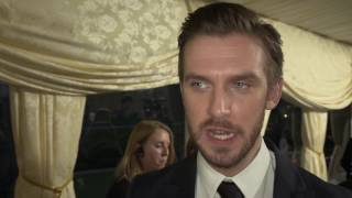 Beauty and the Beast Dan Stevens UK Premiere Interview