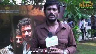 Muthukumar at Kaadu Movie Audio Launch