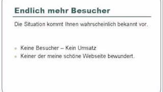 preview picture of video 'Endlich-mehr-Besucher-ueber-Google'