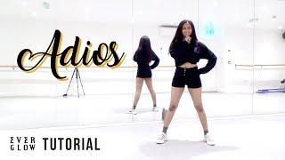 [FULL TUTORIAL] EVERGLOW (에버글로우)   'Adios'   Dance Tutorial   FULL EXPLANATION