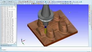 3D-Fräsen Kupferelektrode