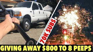 2001 F350 7.3 - TRACK BAR FAIL - 70k Subscribers Giveaway - 8 WINNERS $800 July 4th Special!!!