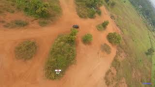 20200712 FPV drone chasing - a DIY Twin Boom RC Plane