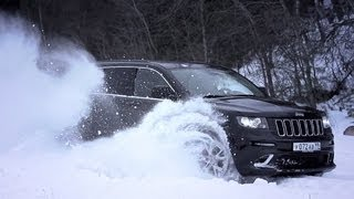 Тест-драйв Jeep Grand Cherokee SRT-8 2013 // АвтоВести 86