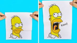 22 FUN DRAWING TRICKS FOR KIDS AND ADULTS