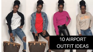 10 Cute And Comfortable Airport Outfit Ideas