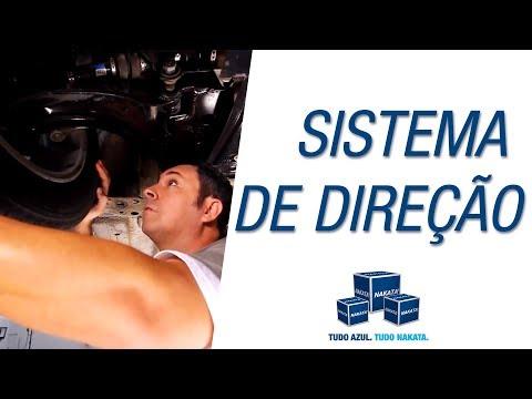Quais influências o pneu e o volante podem exercer no desempenho do sistema de direção?