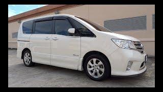 2013 Nissan Serena S-Hybrid Highway Star Start-Up And Full Vehicle Tour