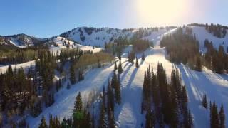 Aerial shots over Utah