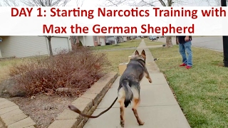 DAY 1: Drug Detection Dog Training With Terry Cook: Columbus Ohio Narcotics K9 Training