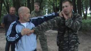 """""""Стрела"""" - встречная атака с опущенных рук. Фильм №4"""