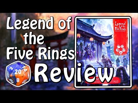 Legend of the Five Rings RPG Beginner Game Review