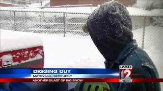Digging out of another blast of big snow