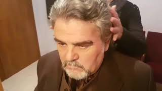 Ylber Gjini në përgatitjet e fundit për të interpretuar mbrëmjen e sotme rolin e Giorgio Germont