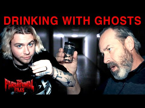 Drinking Gin With The Ghosts In A Haunted House With Papa Spooks