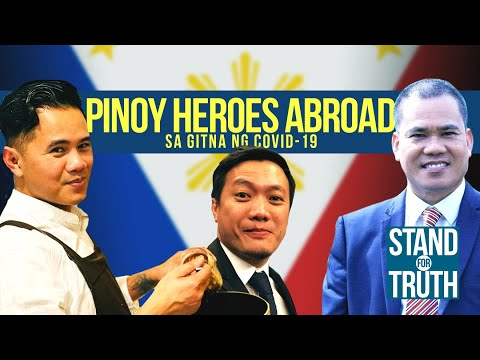 [GMA]  Pinoy heroes abroad sa gitna ng COVID-19   Stand for Truth