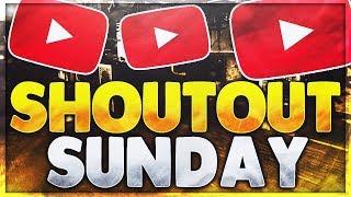 #1 SHOUT OUT SUNDAY