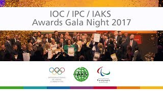 IOC IPC IAKS Awards Gala 2017