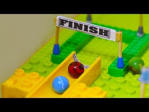 Marble Elimination Race Mini Tournament - Marble Games