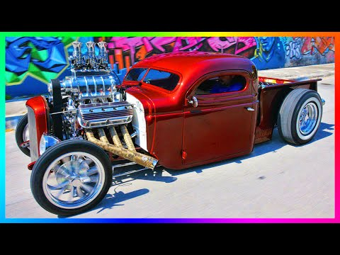 "GTA 5 DLC ""Lowriders 2"" Vehicles IN REAL LIFE! - Customized Lowrider/Hot Rod Versions Of Cars!"