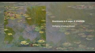 Divertimento in D major, K. 334/320b