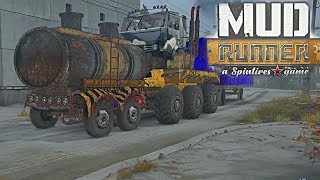 SpinTires Mud Runner: Dorothy | Full Mod Test, + all add-ons