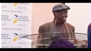 Author Ngugi wa Thiong'o celebrated at 80 - VIDEO