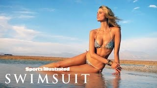 Julie Henderson Poses With A Volcano In Chile: Behind The Scenes | Sports Illustrated Swimsuit