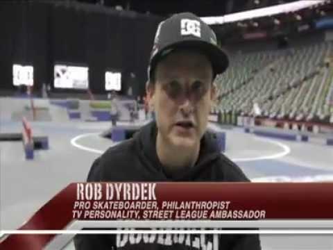 Rob Dyrdek Kennesaw Skatepark Street League Pro Course