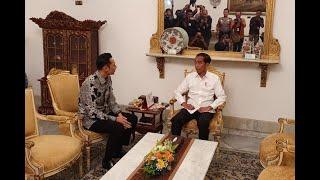 [FULL] Selesai Bertemu Presiden Jokowi, Ini Pernyataan Agus Harimurti Yudhoyono