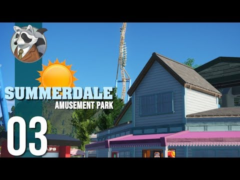 ☀Incorporating a Chairlift | Summerdale Amusement Park | Planet Coaster Ep.3☀